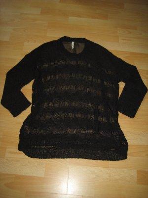 Luftig- leichter Oversized Pullover von Pepe Jeans Gr. L schwarz