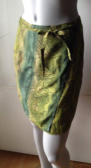 Luftig leichter Wickelrock in tollen Farben. Gr. 36. Rock, Strandrock
