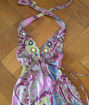 luftig leichtes Sommerkleid, Neckholder, JOYCE&GIRLS