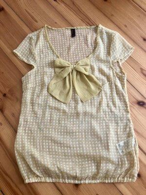 Luftig-transparentes Shirt in Senf