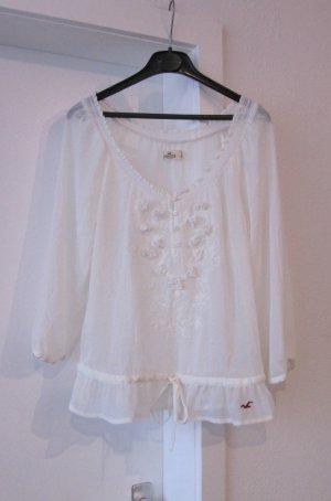 Hollister Transparent Blouse cream