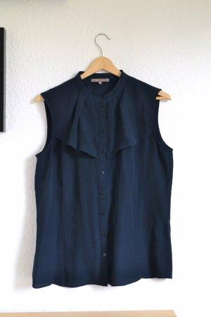 Luftige dunkelblaue Bluse von Mint & Berry