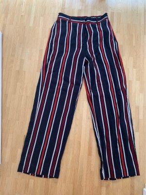 H&M Pantalone Marlene multicolore