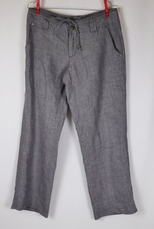 Street One Pantalón de lino multicolor Lino