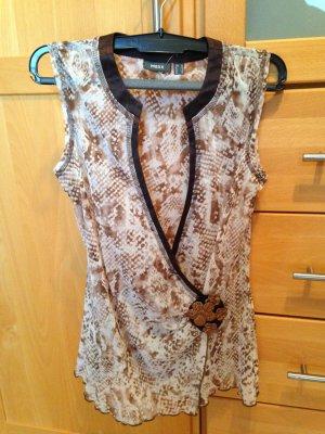 Luftige #Mexx #Shirt #Bluse mit #Schlangen Reptil #Animal #Print