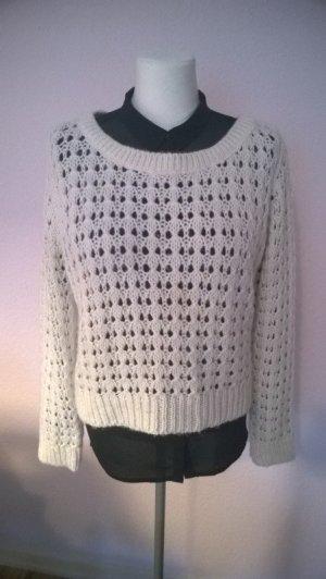 """""""Luftiger"""" H&M Pullover in Creme weiß"""
