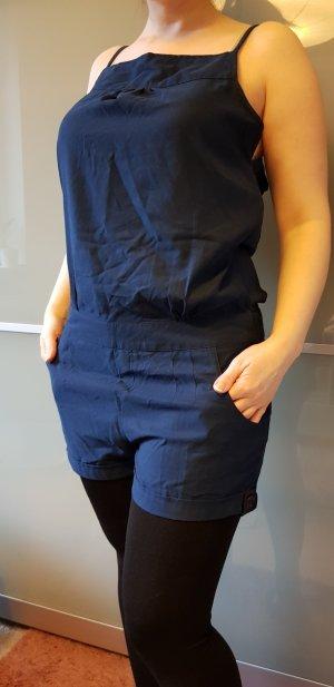 Jumpsuit staalblauw-blauw Polyester