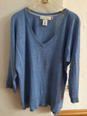Luftiger Oversize Pullover von H&M Logg mit 3/4 Ärmeln