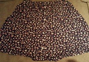 Hollister Plooirok roségoud-donkerblauw