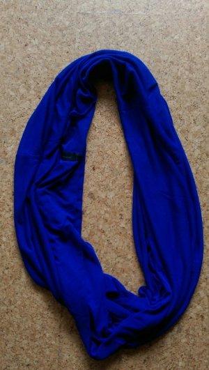 Luftiger Royalblauer Schal