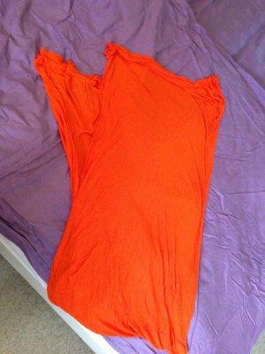 luftiger Schal in orange von Pieces