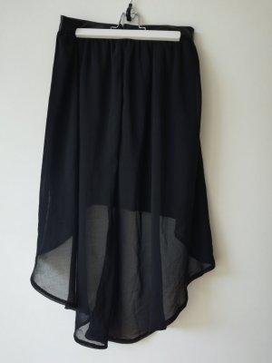 Asos Falda asimétrica negro