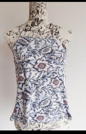 Luftiges A-Linien-Top mit Blumenprint