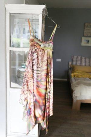 Luftiges Aquarell Seidenkleid