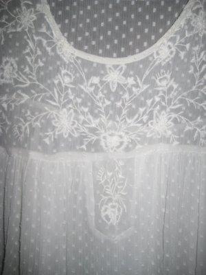 Luftiges Blusentop von Zara Gr. XL weiß