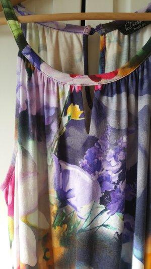 Luftiges Jersey Kleid mit Blumen
