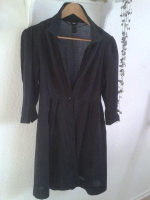 luftiges Kleid in schwarz von H&M