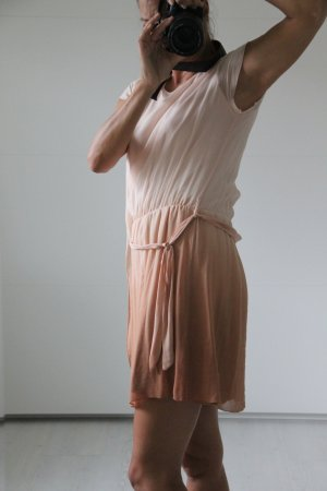 Conleys Vestido de chifón albaricoque-rosa claro
