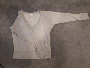 H&M V-Neck Shirt light grey