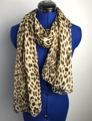Luftiges Leopardentuch