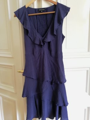 Luftiges lila-blaues Warehouse Kleid Gr. 38
