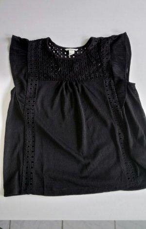 Luftiges schwarzes Shirt