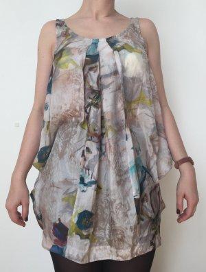 Luftiges Seidenkleid von Tandem mit ungewöhnlichem Schnitt