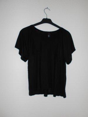 Luftiges Shirt H&M Gr XS schwarz