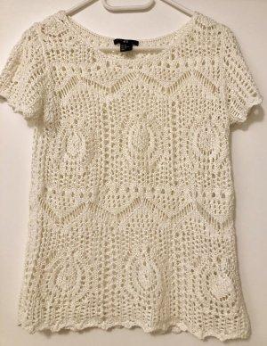 H&M Gehaakt shirt veelkleurig