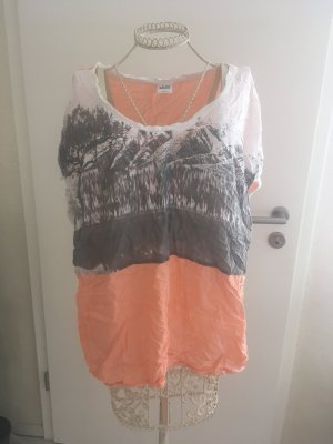 Luftiges Shirt mehrfarbig