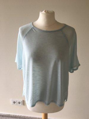 Luftiges Shirt mit Transparenten Ärmeln