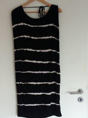 Luftiges Sommer Jersey Kleid mit tieferem Rücken Ausschnitt