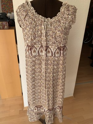 H&M Vestido Hippie multicolor Viscosa