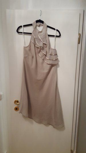 Vero Moda One Shoulder Dress cream