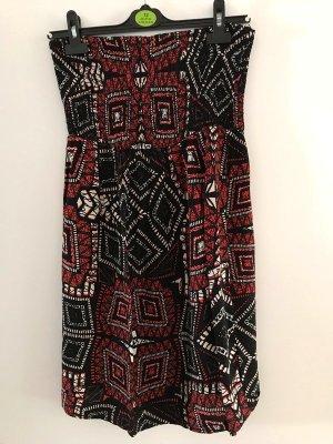 Clockhouse Robe bandeau multicolore coton