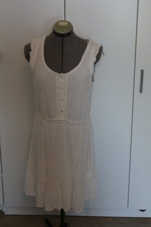 Clockhouse Beach Dress white viscose