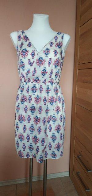 luftiges Sommerkleid in Wickeloptik von Zara, Gr S