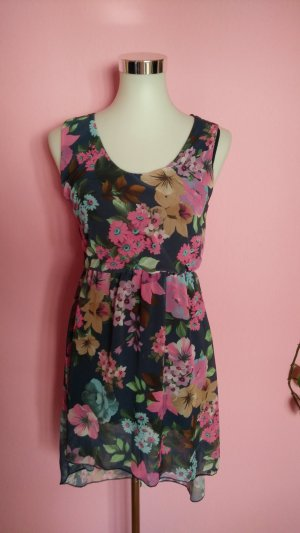 High Low Dress multicolored polyester