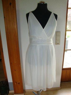 Vero Moda Pinafore dress white polyester