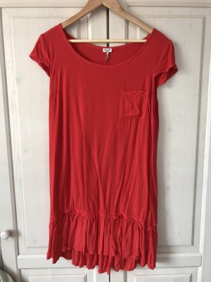 Splendid Flounce Dress red