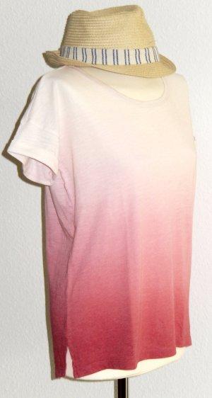 Luftiges T-Shirt mit Farbverlauf