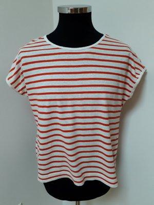 Luftiges T-Shirt mit flotten angeschnittenen Ärmeln