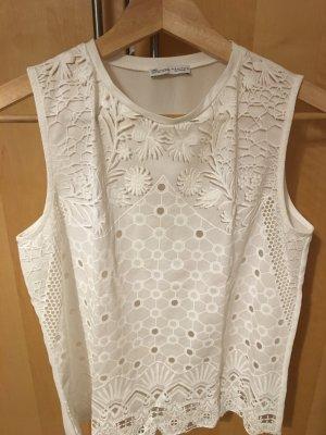 Zara Basic Basic topje wit Polyester
