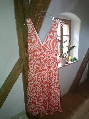 Luftiges Zara Kleid Gr. S Baumwoll-Seide