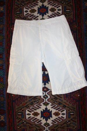Luhta Hose weiss Gr. 38 / Bermudas / kurze Hose / Sommerhose