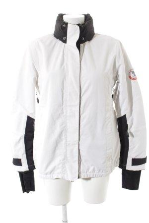 Luhta Outdoorjacke weiß-schwarz sportlicher Stil