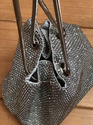 Mini Bag silver-colored