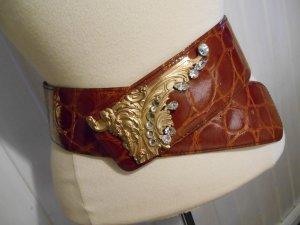 LUIGI BRIGLIA Made in Italy Designer Gürtel Hüftgürtel Vintage Rarität