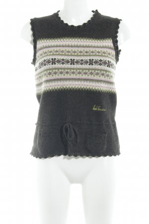 Luis Trenker Fine Knitted Cardigan multicolored casual look