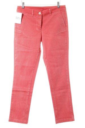 Luis Trenker Skinny Jeans neonrot